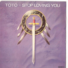 TOTO - STOP LOVING YOU - SOLO COPERTINA - ONLY COVER -