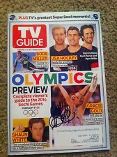 Gracie Gold 2014 Sochi Olyimpics Preview Autographed TV Guide Magazine USA PROOF