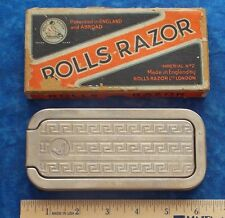 VINTAGE ROLLS RAZOR IMPERIAL #2 IN BOX ROLLS RAZOR LONDON ENGAND STIDHAM ESTATE