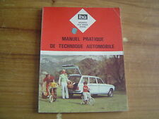 REVUE TECHNIQUE EXPERT AUTOMOBILE PEUGEOT 204 BREAK DIESEL MANUEL DE REPARATION