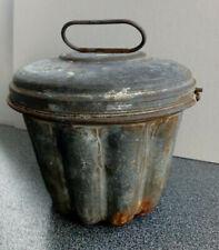 Vintage Kugelhopf Bundt Tin Cake Mould with Lid