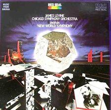 "DVORAK "" NEW WORLD""  SYMPHONY (JAMES LEVINE/CHICAGO SYMPHONY) PREMIUM USED LP"