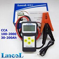 MICRO-200 Digital CCA Car Battery Capacity Tester 12V Analyzer with Printer GEL