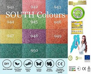 Liquid wallpaper Silk Plaster   SOUTH colors