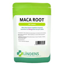 Lindens Maca Root Extract 500mg 3-PACK 300 Tablets Lepidium Meyenii Natural