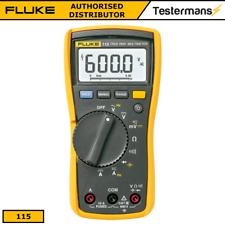 Echt Fluke 115 True-Rms Digital- Handgehalten Multimeter + Fluke Testkabel