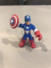 Playskool Heroes Marvel Super Hero CAPTAIN AMERICA FIGURE RARE