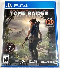 Shadow Of The Tomb Raider: Definitive Edition Brand New Ps4 Game Usa Release