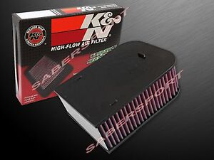 Two K&N E-0660 Hi-Flow Air Intake Drop In Filters for 2015-2017 Porsche Macan