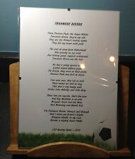 Tranmere Rovers Football Club Original Poetic Gift Framed Unique And Unusual