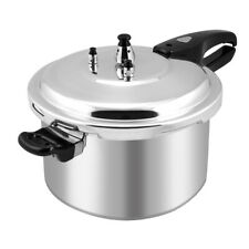 8-Quart Aluminum Pressure Cooker Fast Cooker Canner Pot Kitchen Large Capacity