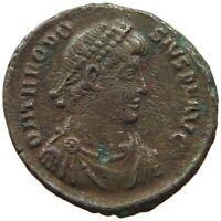ROME EMPIRE THEODOSIUS FOLLIS #c56 4193