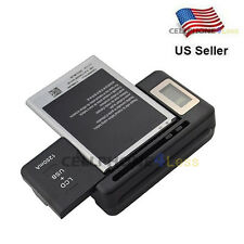 Mobile Battery Charger LCD Indicator Screen For Samsung Galaxy S2 S3 S5