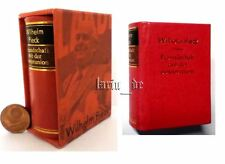 DDR Minibuch Wilhelm Pieck Präsident Freund.m.d UdSSR East german miniature Book