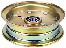 NEW FLAT IDLER PULLEY REPLACES HUSQVARNA CRAFTSMAN MOWER 539-132728 539132728