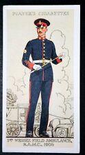 RAMC     Royal Army Medical Corps  Field Ambulance   Superb  Vintage Card  VGC