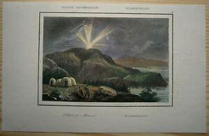 1840 print MIDNIGHT SUN, ARCTIC (#9)