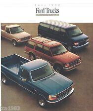 1992 Ford TRUCK's Brochure: F Series,150,Ranger,Explorer,Bronco,Van,Aerostar,4WD