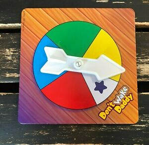 Don't Wake Daddy Replacement Board Game Parts Pieces Toy Spinner Color Wheel USA