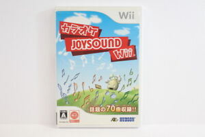 Karaoke Joysound Wii No Mic Nintendo Wii Japan Import US Seller READ