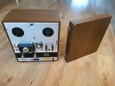 Akai X-1800SD Reel to Reel Tape and 8 Track Player/Recorder for parts or repair