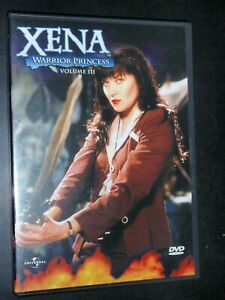 Xena  Warrior Princess vol 3      DVD    #9