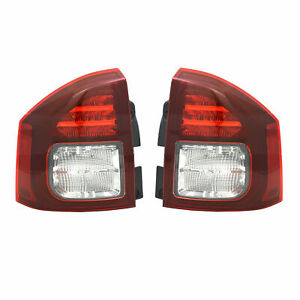 FIT FOR JEEP COMPASS 2014 2015 2016 2017 TAIL LAMP LED RIGHT & LEFT PAIR SET