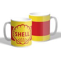 Shell Oil Mug Vintage Car Motorbike Mechanic Tea Coffee Mug Gift