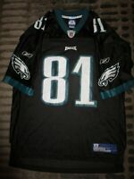 Terrell Owens #81 Philadelphia Eagles Reebok Black Edition NFL Jersey XL