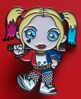 Harley Quinn Pin LoL Bratz Doll Movie Enamel Metal Brooch Badge Lapel Cosplay