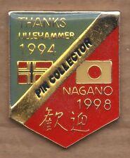 Bridge pin Lillehammer 1994 - Nagano 1998