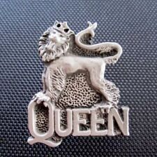 Vintage Queen Freddie Mercury Pin Badge, Alchemy, Poker, Rox, Inferno, Rock Etc.