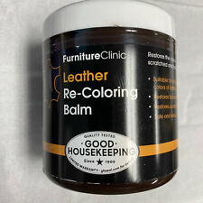 FURNITURE CLINIC LEATHER RE-COLORING BALM dark brown