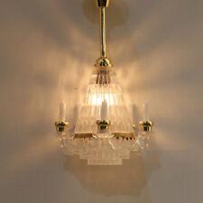 1/12 Dollhouse Miniature Tulip Wall Lamp 12 Volt Working Light Room Decorations