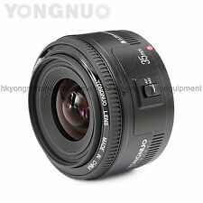 Yongnuo EF 35mm F/2 1:2 Auto Focus Wide-Angle Prime Lens for Canon Rebel Camera