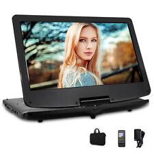 12.5 Zoll portable DVD Player 270° Tragbarer 1366*768 TFT Monitor IR USB MP3 SD