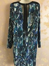 NEW YAS Open Back Long Sleeved Dress Size: 38(10UK) RRP:£85 New