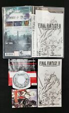Final Fantasy Iv: The Complete Collection Playstation Psp Game Complete & Tested