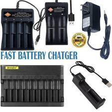 1865 0 Li-Ion Batería Cargador USB antorcha para 3.7V 16340 14500 18350 1/2/4/10 Ranura