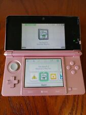 Nintendo 3ds - pink - no charger