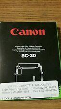 NOS Genuine Canon SC-30 Correctable typewriter ribbon