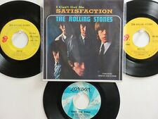 4 'THE ROLLING STONES' HIT 45's+1P(Copy)[I Can't Get No Satisfaction] 60's&70's!