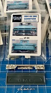 Resin 1964 1965 1966 64 65 66 Chevy Custom Grille Conversion 1/25 #18 of 24