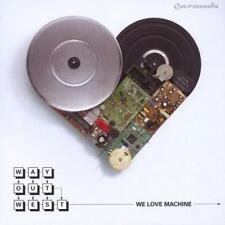 Way Out West - We Love Machine CD Armada NEW
