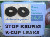STOP COFFEE LEAK FROM REUSABLE K-CUP WITH NEW PART FOR KEURIG BREWER GUARANTEED