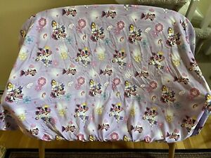 Disney's Minnie Mouse & Daisy Duck Purple Toddler Fitted Sheet