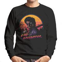 Stranger Things Steve Harrington The Babysitter Retro Wave Men's Sweatshirt