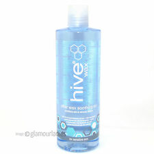 HIVE OF BEAUTY 400ml After Wax Soothing Oil Conditions & Cleans Sensitive Skin