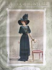 Edwardian MODE ILLUSTREE March 12 & 19,1911+multi sewing PATTERN sheet