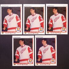 KEITH PRIMEAU RC (5 lot) 1990/91 Upper Deck #354 Detroit Red Wings Rookie single